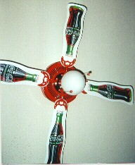 Coke Ceiling Fan
