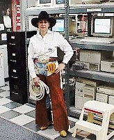Paleface as a Cowgirl
