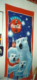 Coke Beach Towel